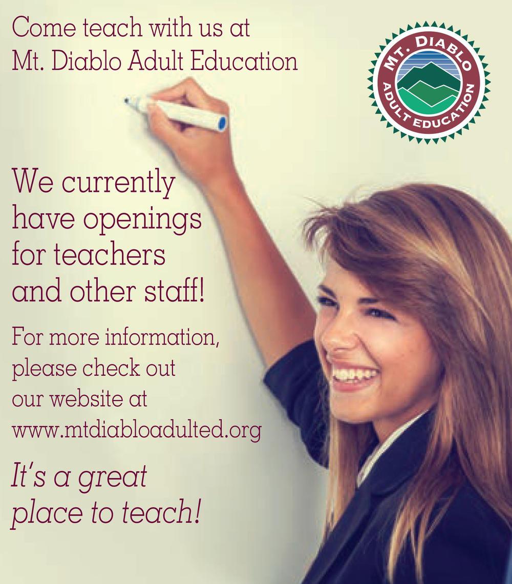Mt  Diablo Adult Education